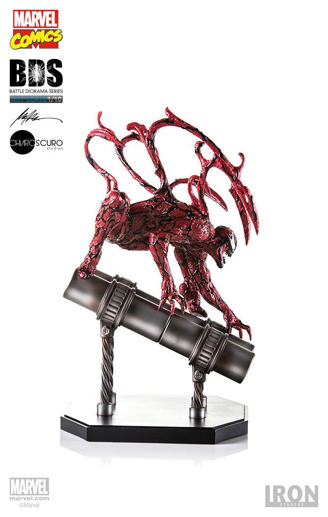 Marvel Comics Battle Diorama Series Statue 1/10 Carnage 27 cm