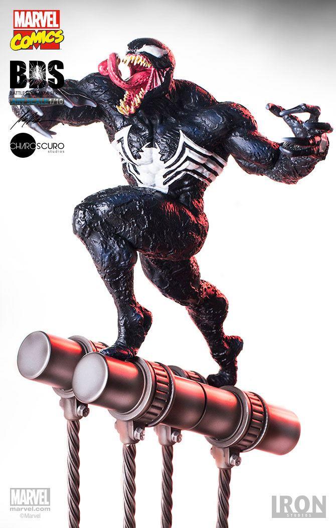 Marvel Comics Battle Diorama Series Statue 1/10 Venom 37 cm