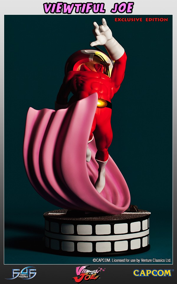 Viewtiful Joe Exclusive Edition Statue 35 cm