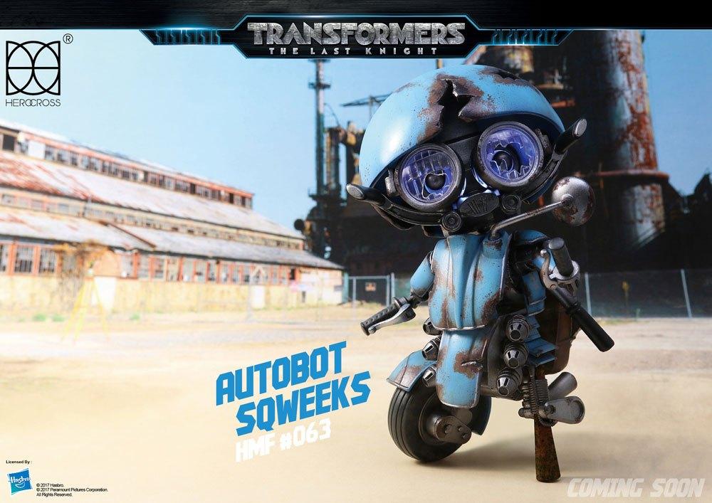 Transformers The Last Knight Hybrid Metal Action Figure Sqweeks 14 cm