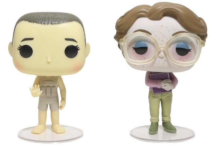 Pop! TV: The Stranger Things Upside Down Eleven and Barb ECCC 2017 Edition