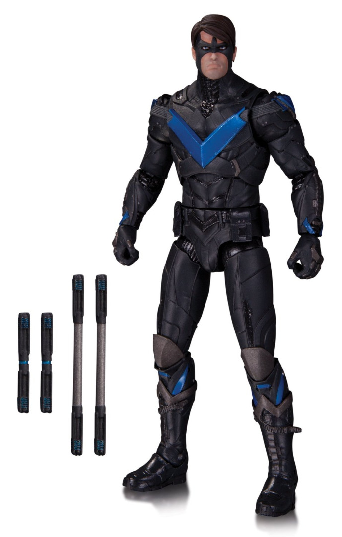 Action Figure Batman Arkham Knight - Nightwing 17 cm