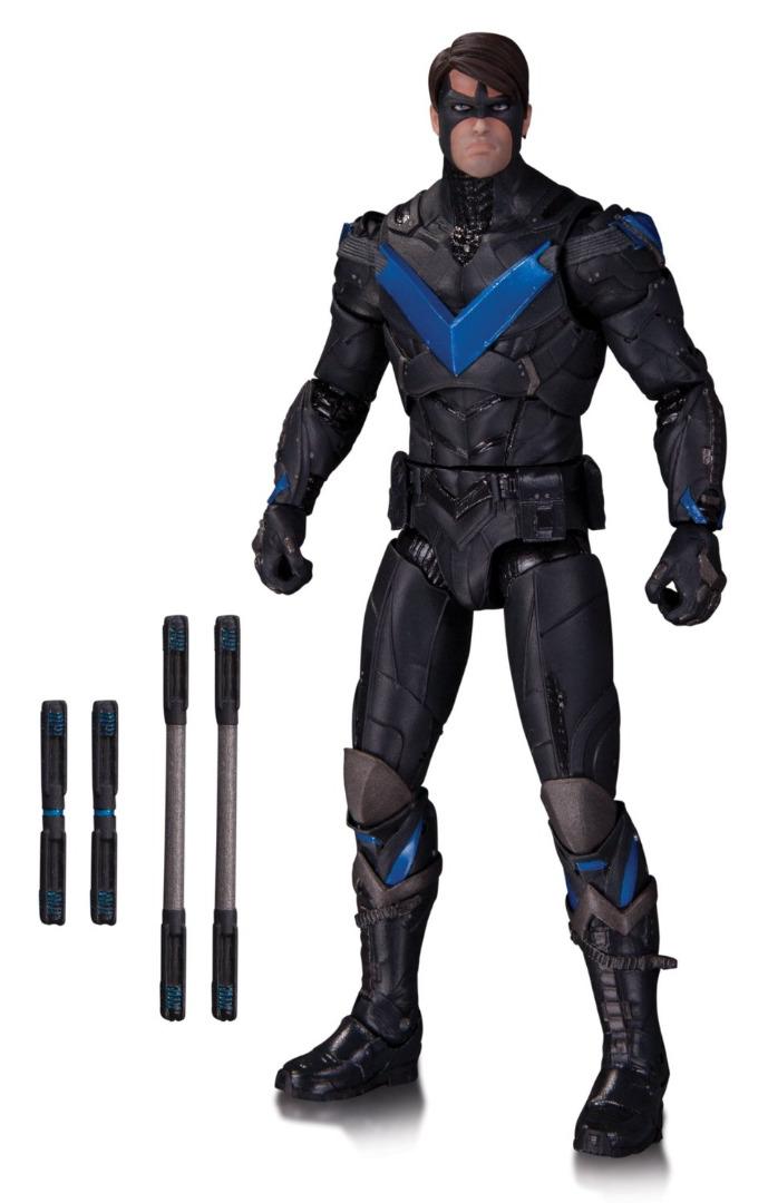 Action Figure Batman Arkham Knight - Nightwing 17 cm