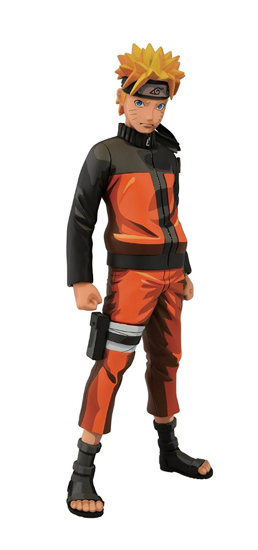 Naruto Shippuden Naruto Master Stars Piece Manga Dimensions Figure 23 cm