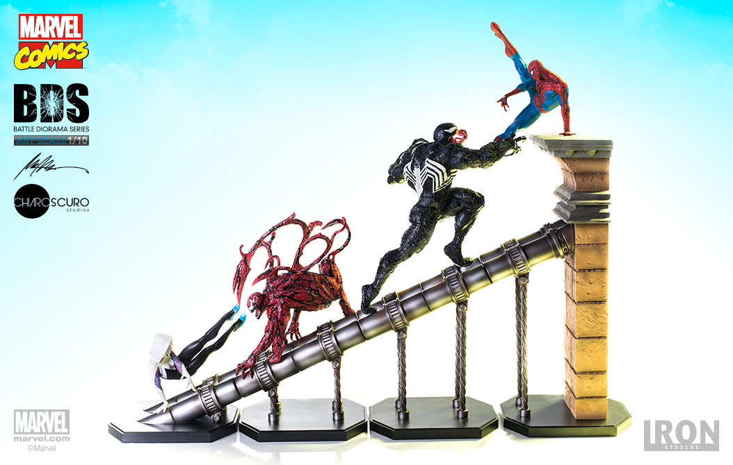 Marvel: Spider-Man Complete diorama 1:10 Scale Statues 51 cm