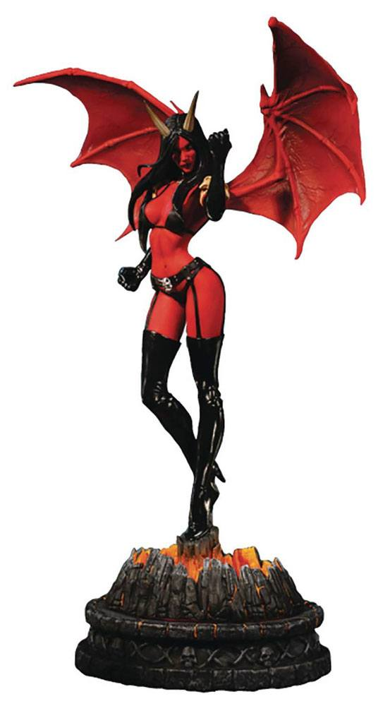 Women of Dynamite Statue Purgatori Diamond Proof Edition 35 cm
