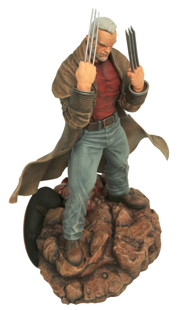 Marvel Gallery Old Man Logan PVC Figure 20 cm