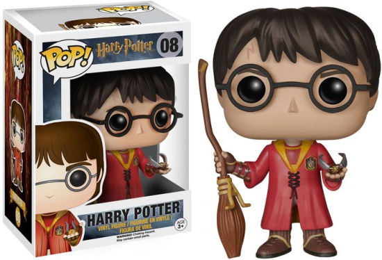 Pop Vinyl! Movies Harry Potter Quidditch Exclusive Edition 10 cm