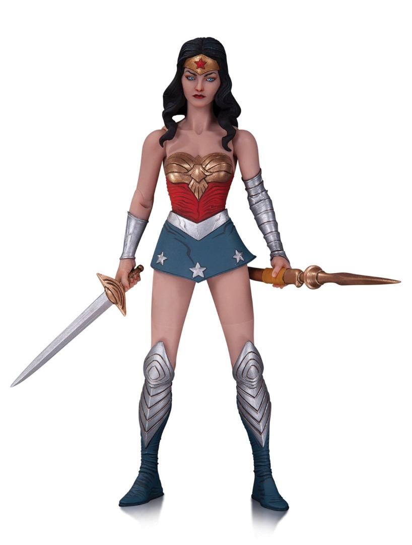 Action Figure DC Comics Jae Lee Designe Série 1 Wonder Woman 17 cm