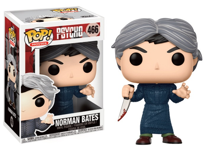 Pop Movies: Psycho - Norman Bates Vinyl Figure 10 cm