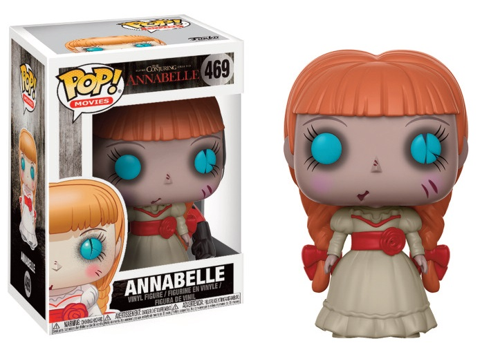 Pop Movies: The Conjuring Annabelle - Annabelle Vinyl Figure 10 cm