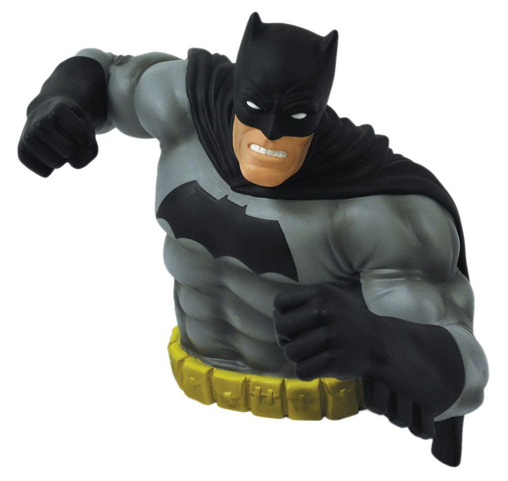 Batman Dark Knight Returns Bust Bank Batman Black Ver. Exclusive 15 cm