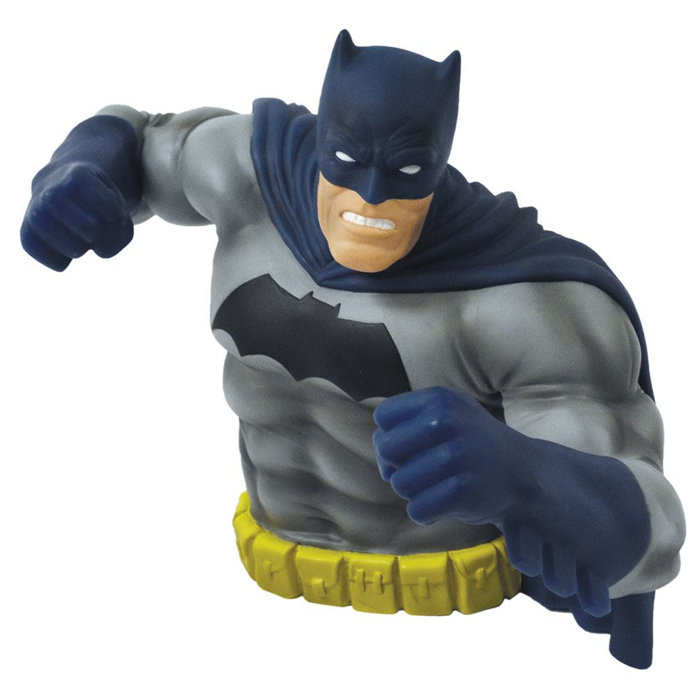 Batman Dark Knight Returns Bust Bank Batman Blue Ver. Exclusive 15 cm