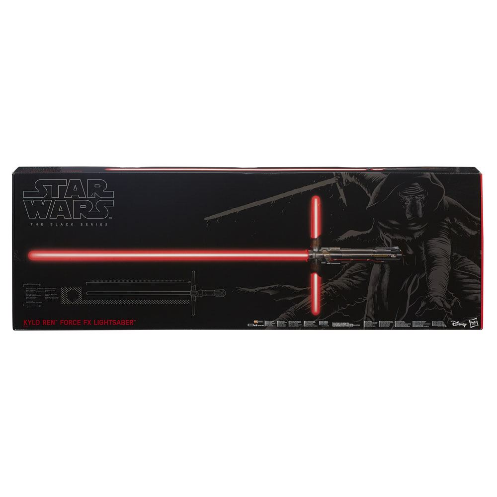 Star Wars Episode VII Black Series Replicas 1/1 Force FX Deluxe Lightsaber