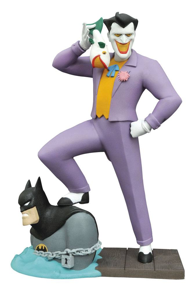 Batman The Animated Series Gallery PVC Statue The Laughing Fish Joker 23 cm