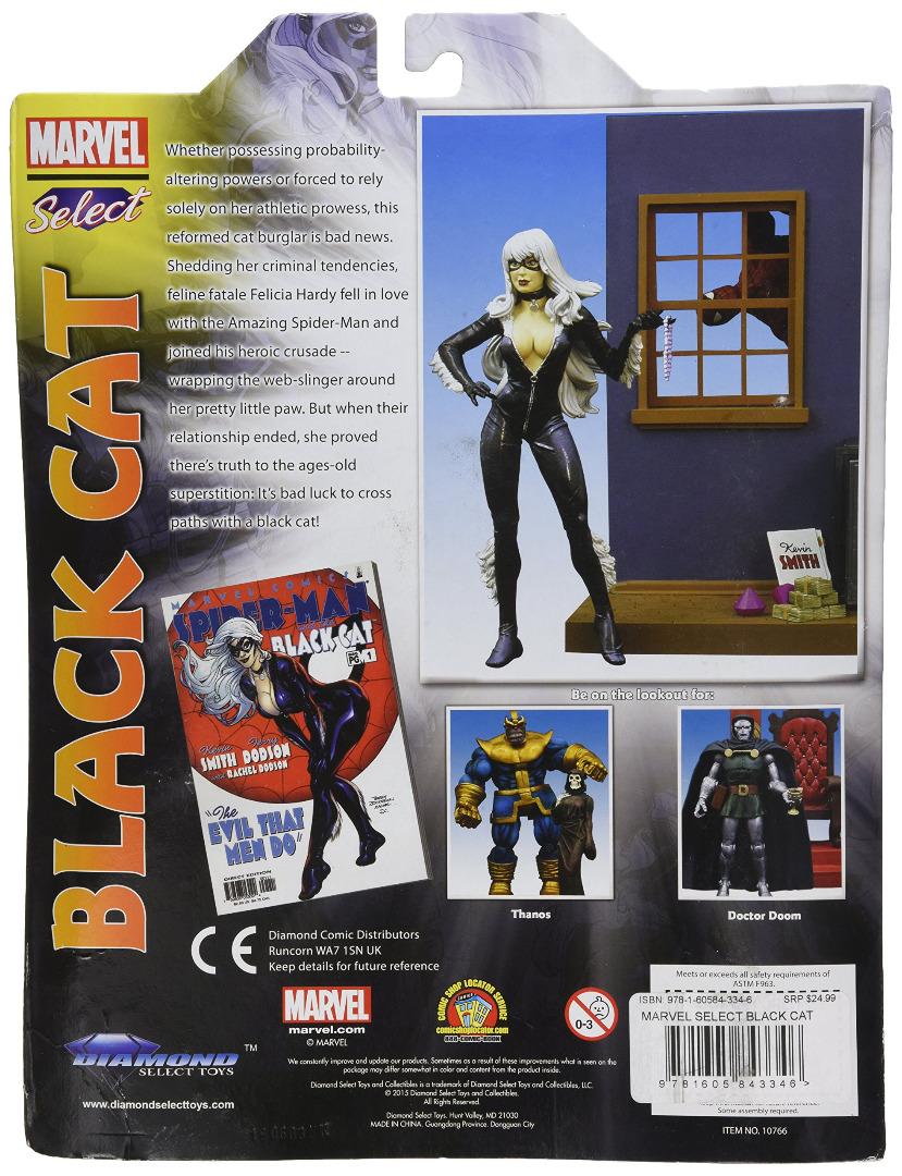 Action Figure Marvel Select Black Cat 17 cm