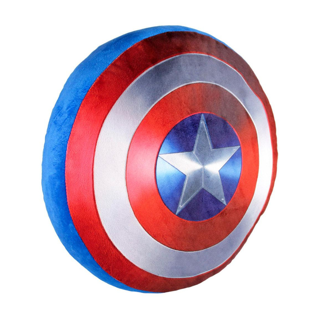 Almofada Marvel Comics Pillow Captain America Shield 35 x 35 cm