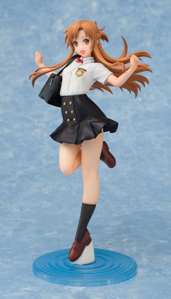 Sword Art Online Ordinal Scale Statue 1/7 Asuna Yuuki Summer Uniform 23 cm