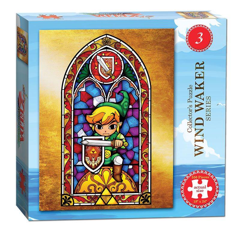 Legend of Zelda Wind Waker Puzzle Ver. 3 550 peças