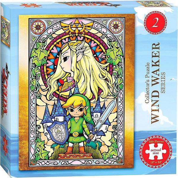 Legend of Zelda Wind Waker Puzzle Ver. 2 550 peças