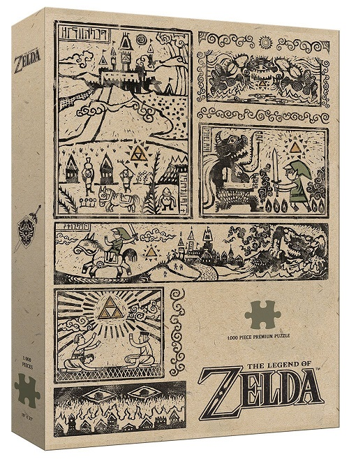 Legend of Zelda Puzzle Legend of the Hero 1000 Peças
