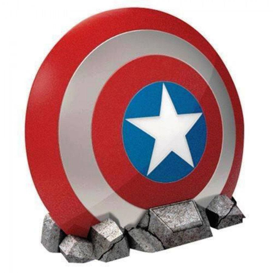 Marvel Comics Bluetooth Speaker Captain America Shield 21 cm