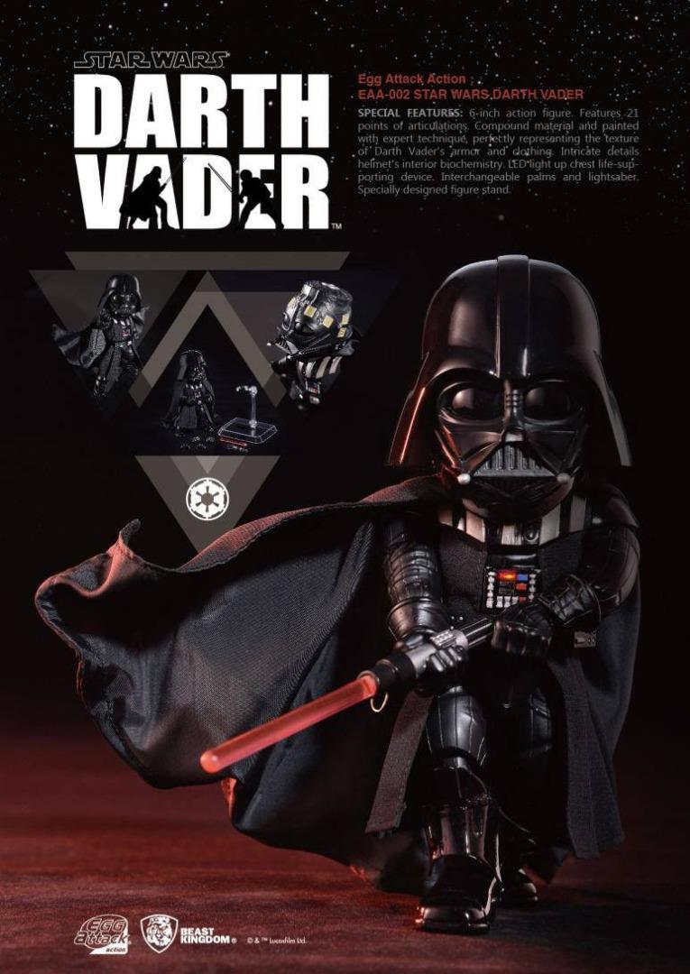 Star Wars Egg Attack Action Figure Darth Vader 16 cm