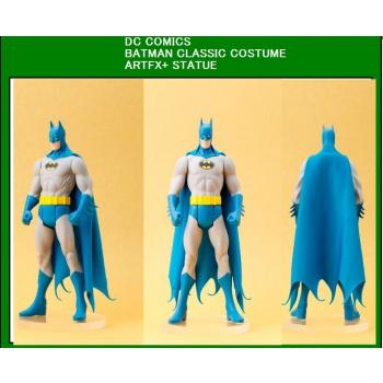 Estátua DC Universe SuperHeroes ARTFX+Series Batman (Classic Costume) 20 cm