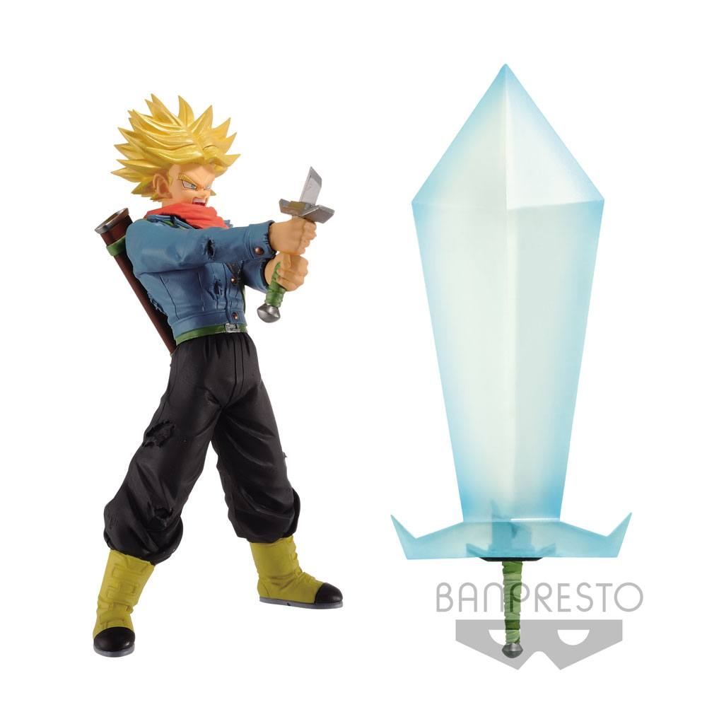 Dragonball Super Super Saiyan 2 Trunks Figure +  Blade of Hope 24 cm