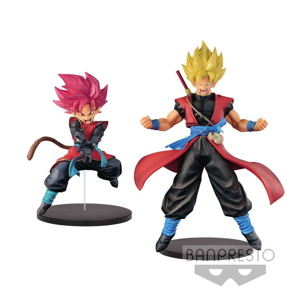 Super Dragonball Heroes DXF Figures Saiyan (Male) Avatar + Son Goku Xeno