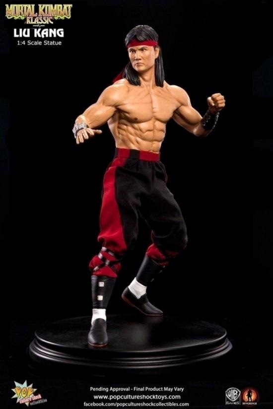 Mortal Kombat: Klassic Liu Kang 1:4 Scale Statue 50 cm