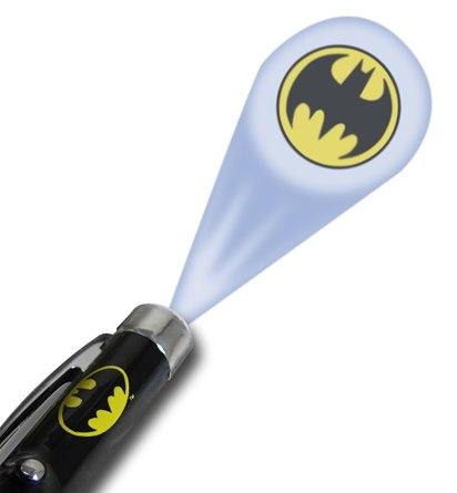 Caneta Batman Ball Logo com projetor de Luz
