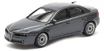 Alfa Romeo 159 Scace 1:43 (Grey/Cinzento)