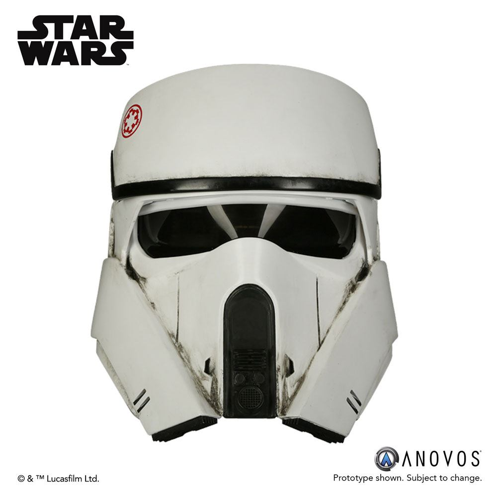 Star Wars Rogue One Replica 1/1 AT-ACT Driver Helmet Accessory Ver.