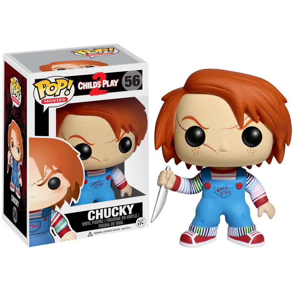 Funko POP! - Movies - Child's Play Chucky Vinyl Figure 10 cm