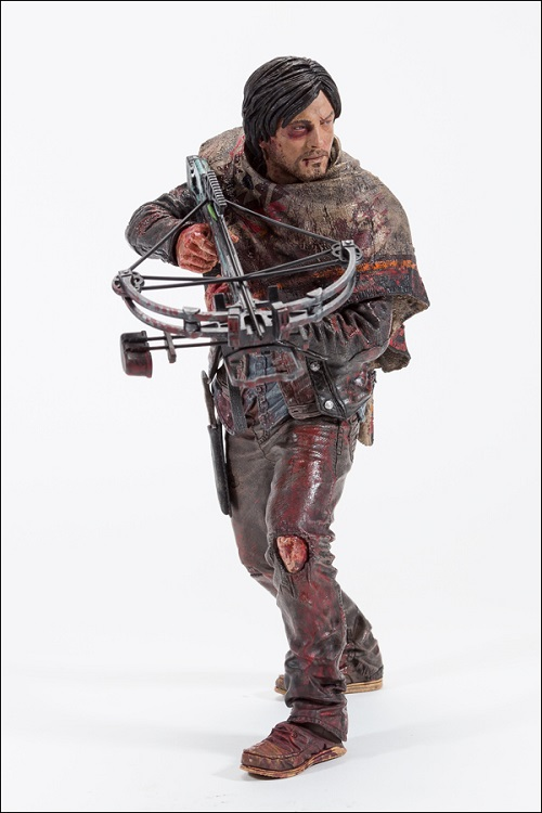 The Walking Dead TV Version Deluxe Action Figure Daryl Dixon Edition 25 cm