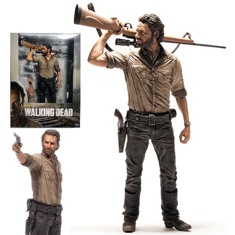 The Walking Dead TV - Rick Grimes Edition Deluxe Figure 25 cm