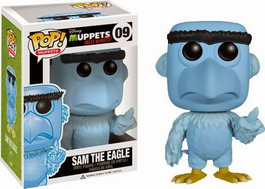Funko Pop! The Muppets Most Wanted - Sam the Eagle Vinyl Figure 10 cm
