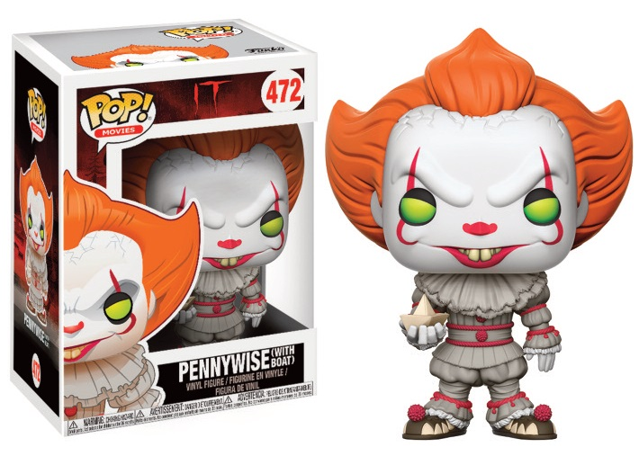 Pop! Movie: IT - Pennywise with Boat Vinyl Figure 10 cm