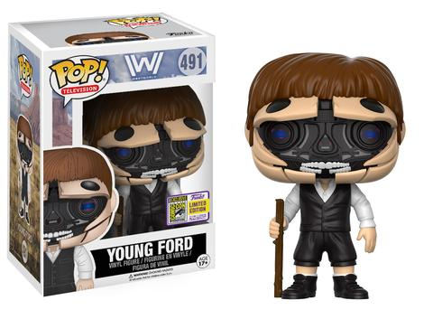 Pop! TV: WestWorld - Open-Face Dr. Ford SDCC 2017 Limited Edition 10 cm