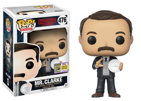 Pop! TV: Stranger Things - Mr. Clarke SDCC 2017 Limited Edition 10 cm