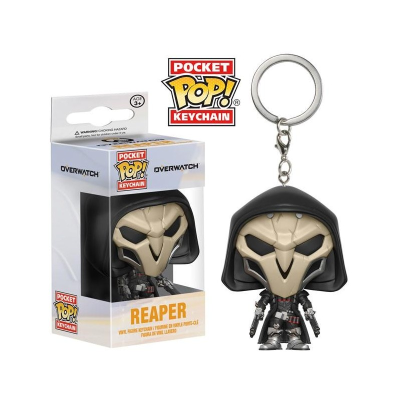 Funko Pocket POP! Keychain Overwatch - Reaper Vinyl Figure 4 cm