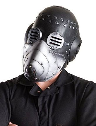 Slipknot Vinyl Sid Mask with Removable Face