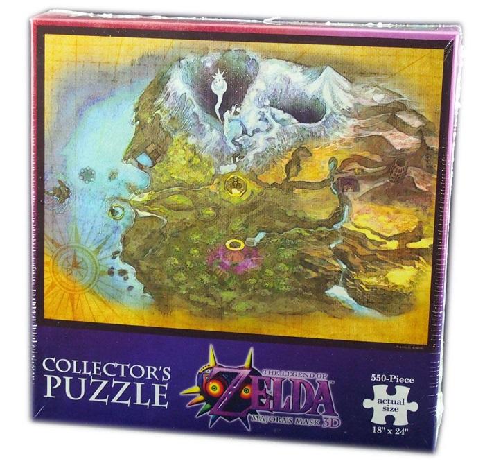 Legend of Zelda Majora's Mask Puzzle Termina 550 peças