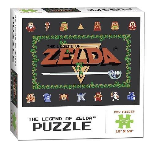 Legend of Zelda Puzzle Classic 550 peças