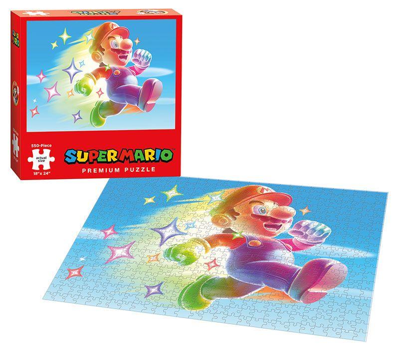 Super Mario Puzzle Star Power 550 Peças