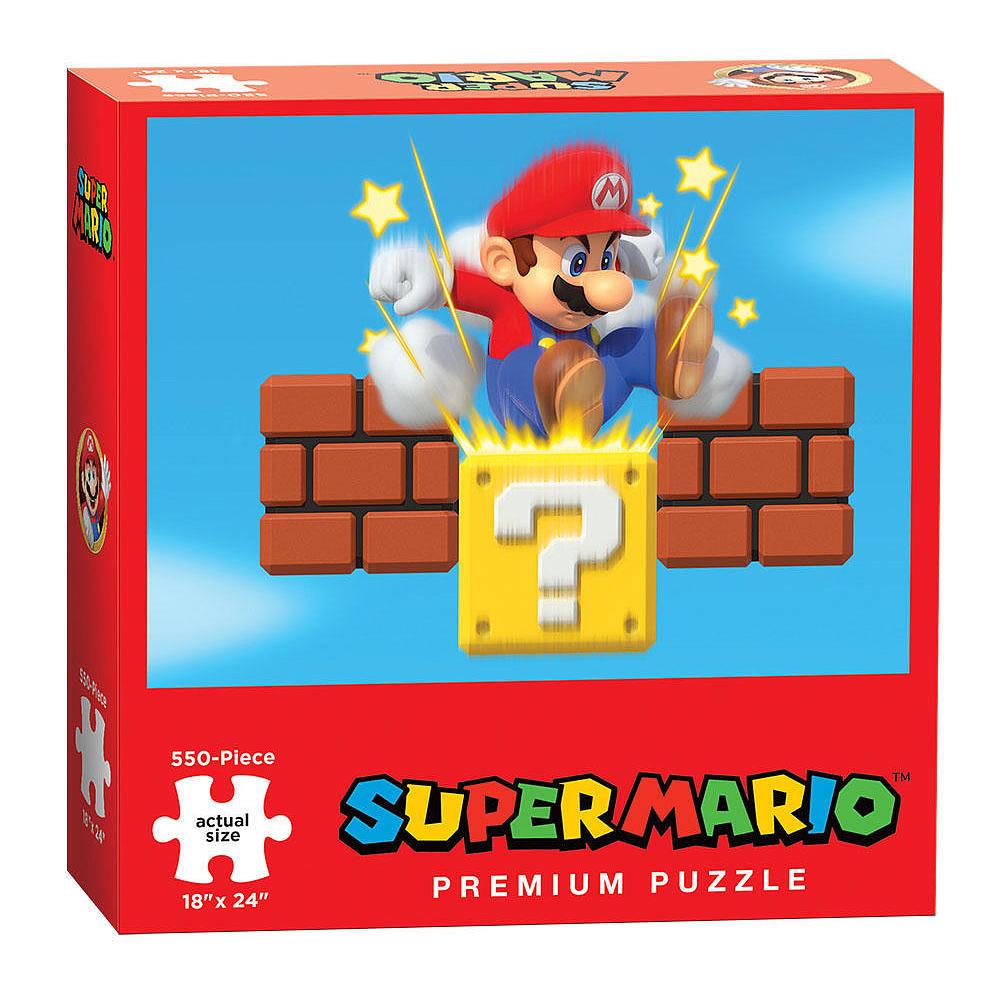 Super Mario Bros. Puzzle Ground Pound 550 Peças