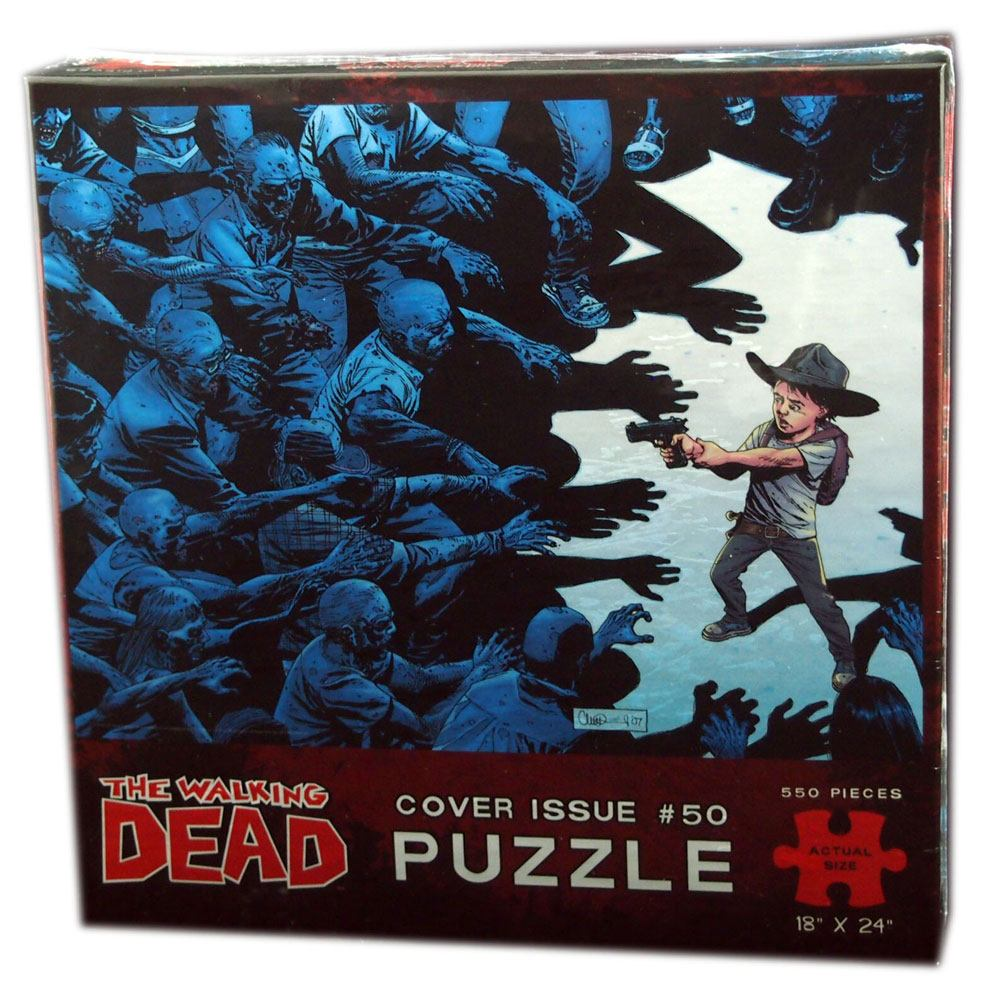 Walking Dead Puzzle Cover Issue 50 550 Peças