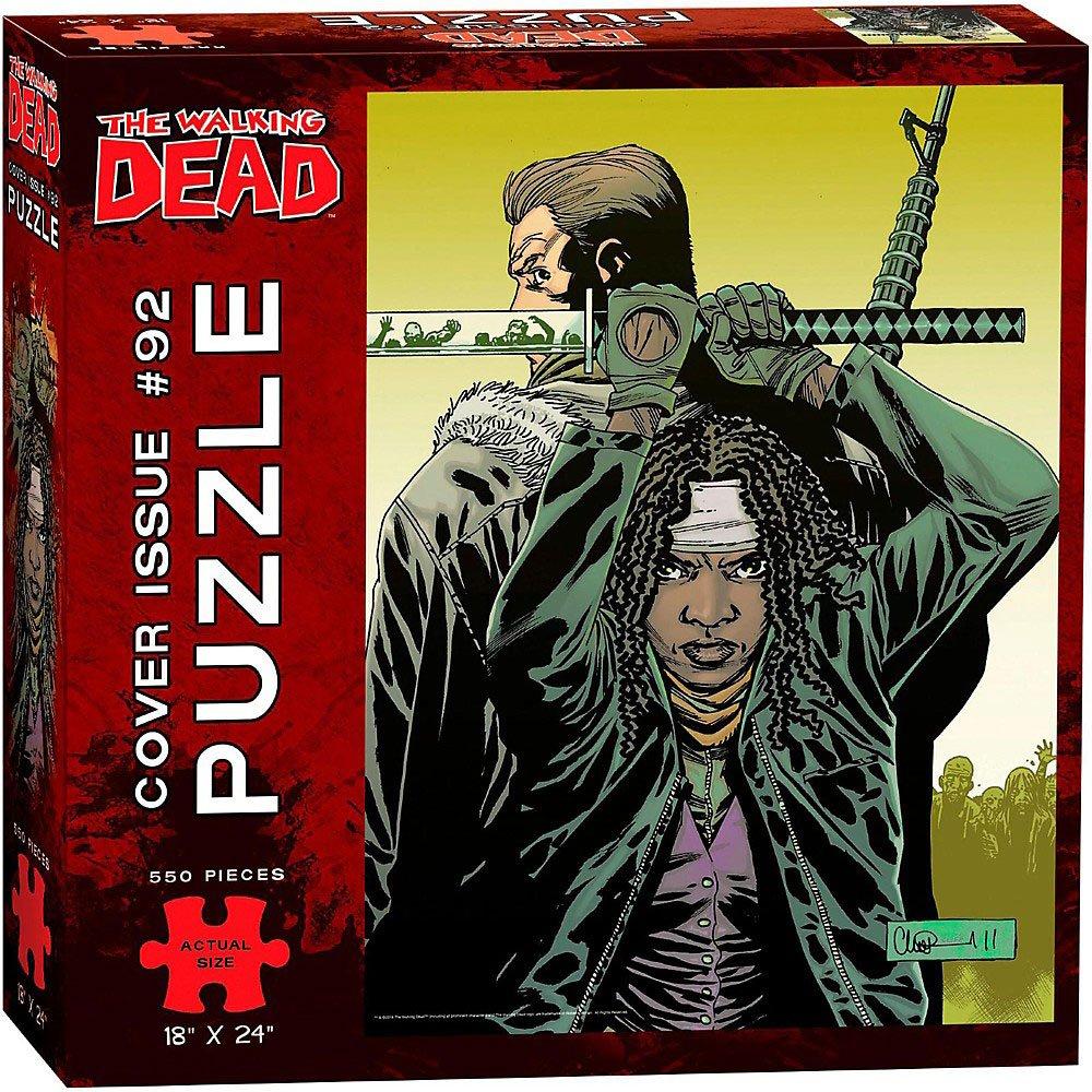 Walking Dead Puzzle Cover Issue 92 550 Peças
