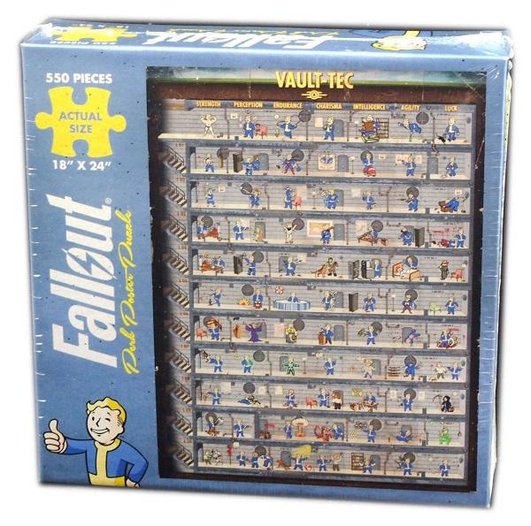 Fallout Puzzle Perk 550 Peças